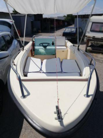 Barca + motore + carrello
