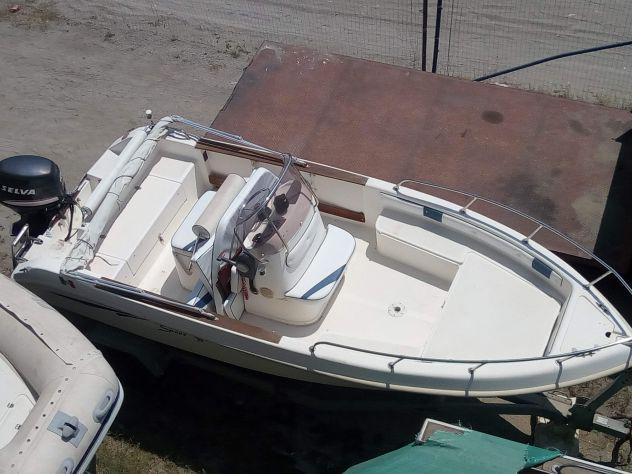 Barca open saver 5.40 selva 40cv - senza patente