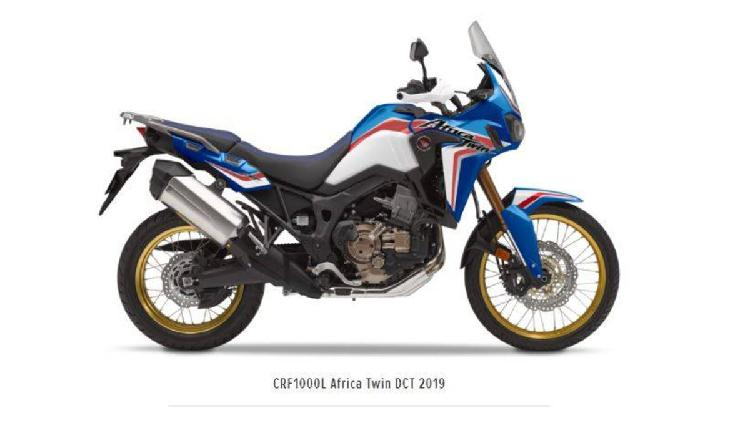 Honda africa twin dct (2018 - 19) nuova a roma