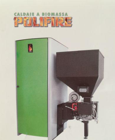 Stufa caldaia policombustibile ctm polifire 2249