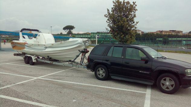 Trasporto barche e gommoni