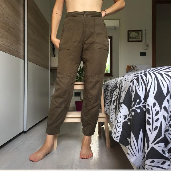 Pantaloni verde militare 【 SCONTI Novembre 】   Clasf