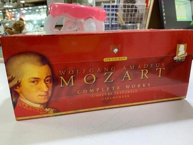 Cofanetto cd mozart