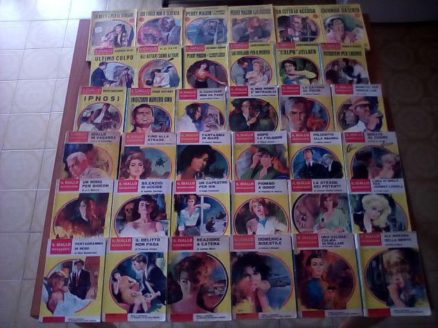 Lotto 64 gialli mondadori anni 50/60