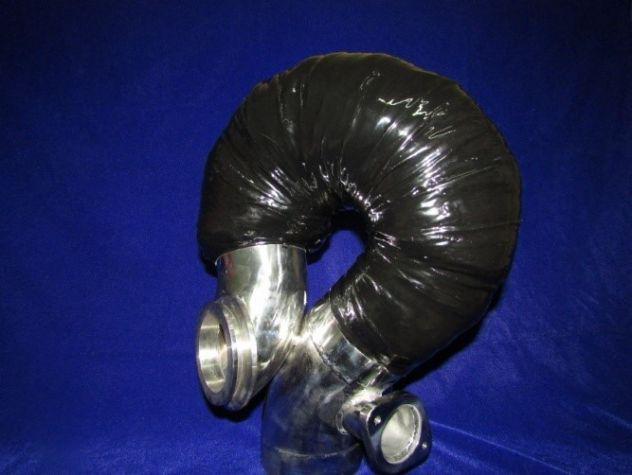Gomito/riser in acciaio inox compatibile: volvo penta