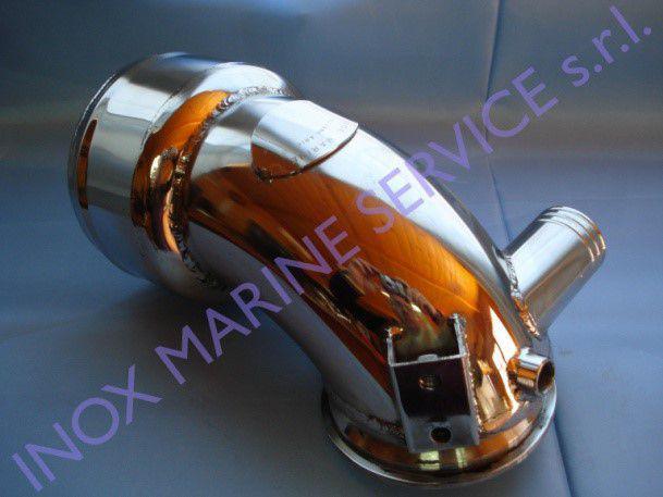 Gomito/riser in acciaio inox compatibile: yanmar