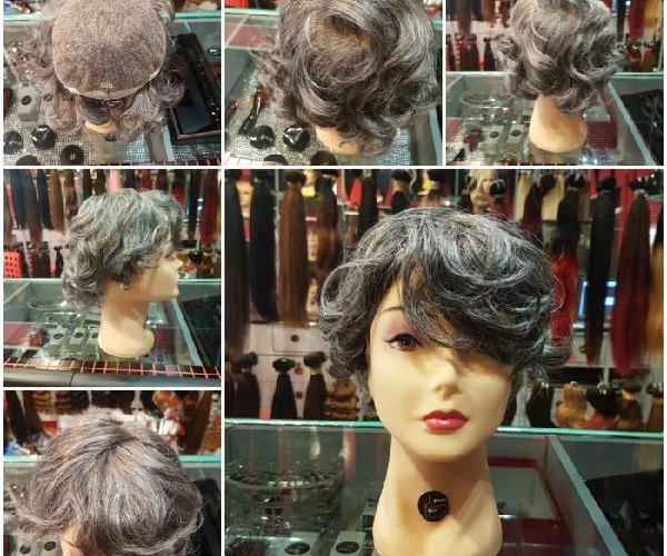 Parrucche da donna con capelli naturali