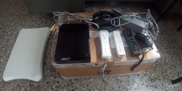 Console nintendo wii nera + accessori