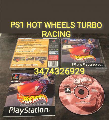 Gioco ps1 hot wheels turbo racing pal