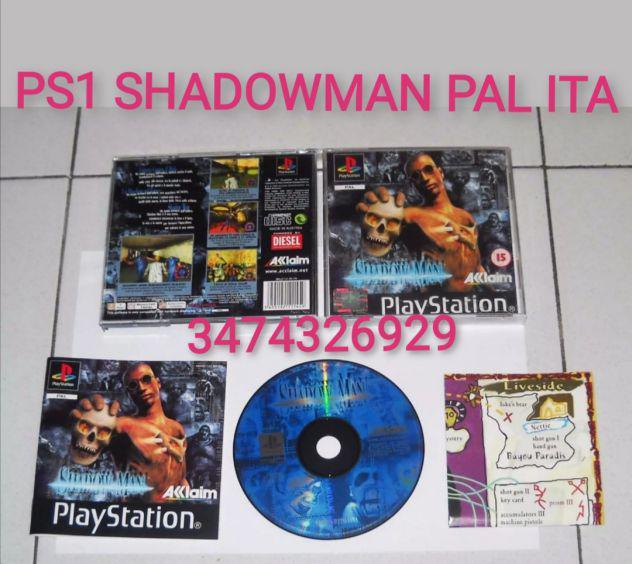 Gioco ps1 shadowman pal ita