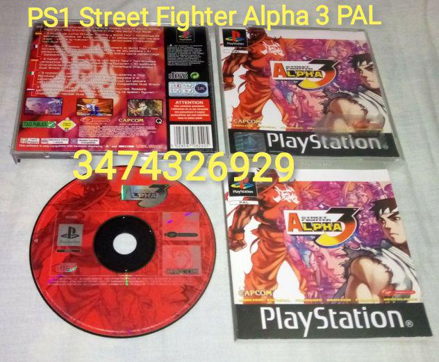 Ps1 street fighter alpha 3 pal