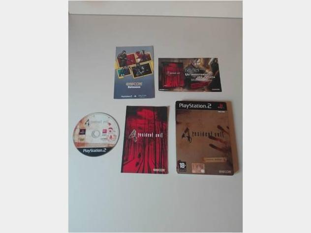 Ps2 playstation 2 pal gioco resident evil 4 ita usato