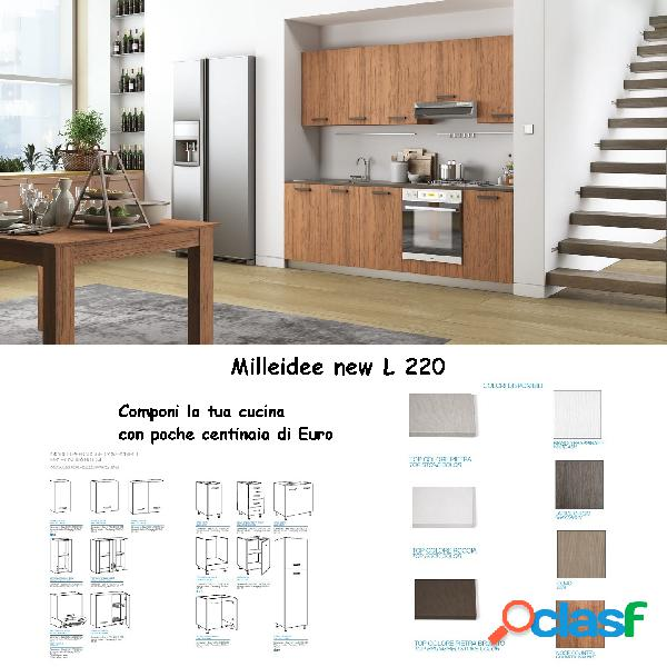 Cucina milleidee new l 220