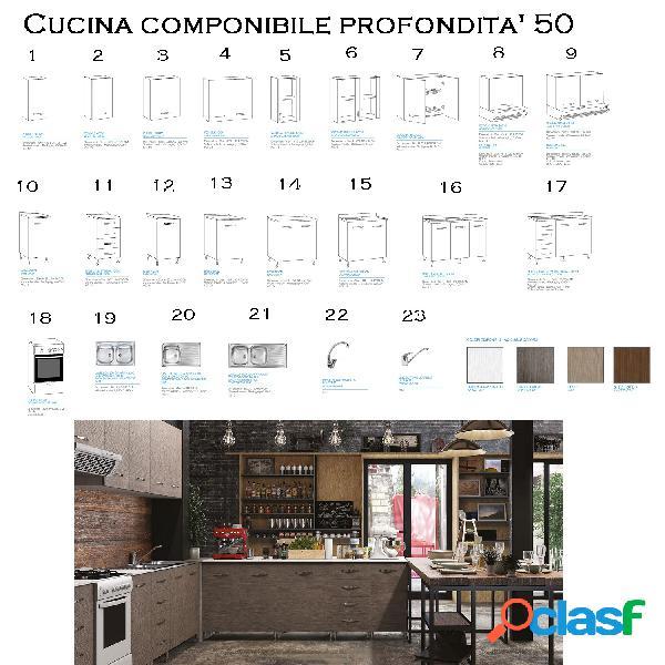 Mobili cucina componibile 【 OFFERTES Settembre 】 | Clasf