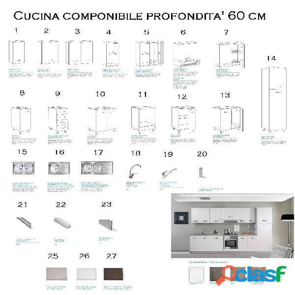 Cucina milleidee componibile