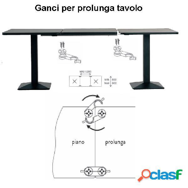 Ganci prolunga tavolo (4pz)