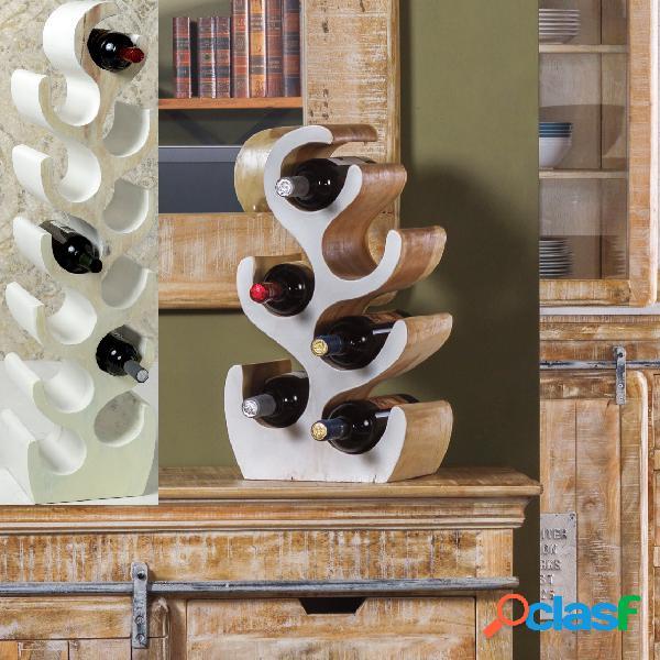 Portabottiglie rack tavolo