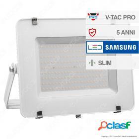 200W LED Floodlight SMD SAMSUNG CHIP White Body 6400K