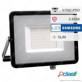 50W LED Floodlight SMD SAMSUNG CHIP Black Body 3000K