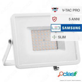 50W LED Floodlight SMD SAMSUNG CHIP White Body 3000K