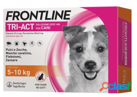 Frontline tri-act spot on s 5-10 kg 6 pipette