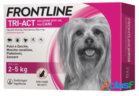 Frontline tri-act spot on xs 2-5 kg 6 pipette
