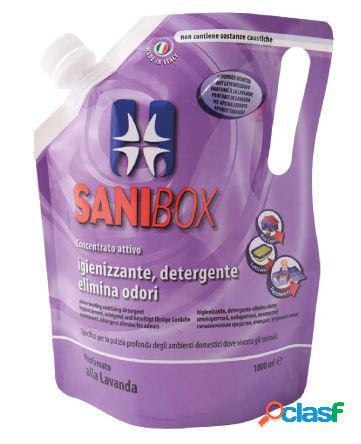 Sanibox igienizzante profumato ml 1000 alla lavanda