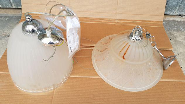 """3 lampadari """"nuovi"""""""