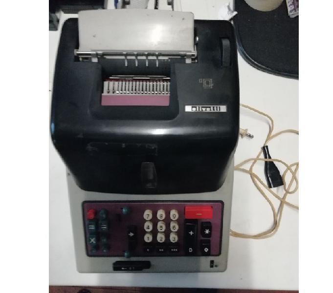 Calcolatrice meccanica olivetti divisumma gt 24