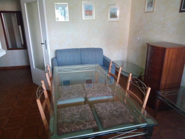 Appartamento 85 mq con due stanze singole con letto doppio