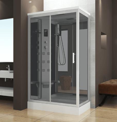 Box doccia idromassaggio multifunzione 120x70 cm vorich air