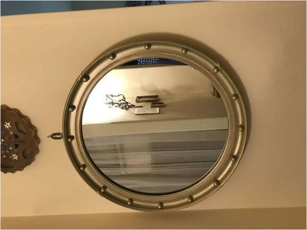 Specchio antico rotondo