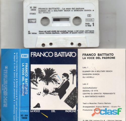 Franco battiato mc rara musicassetta originale 1981 la voce del padrone perfetta