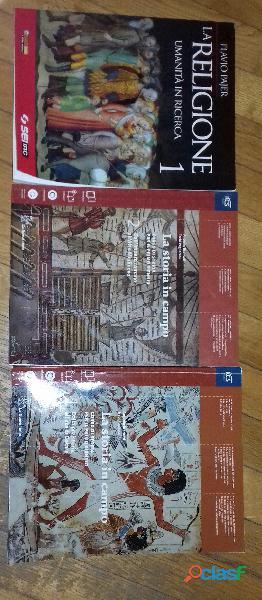 Libri scolastici di storie e religione