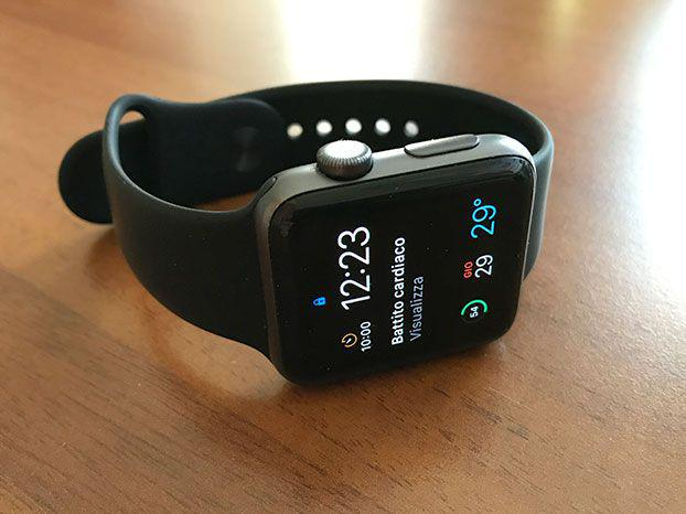 Apple watch series 2 42mm, colore space gray
