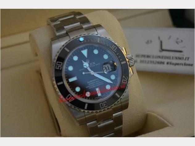 Rolex submariner acciaio 3135 parti originali