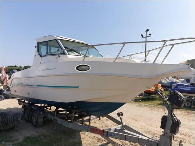 Barca a motoresaver manta 21 anno1999 lunghezza mt640