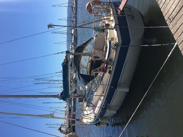 Barca a velahallberg rassy 312 anno1985 lunghezza mt9,47