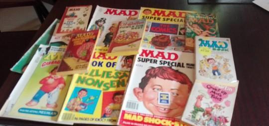Collezione della famosa rivista e libretti mad malta