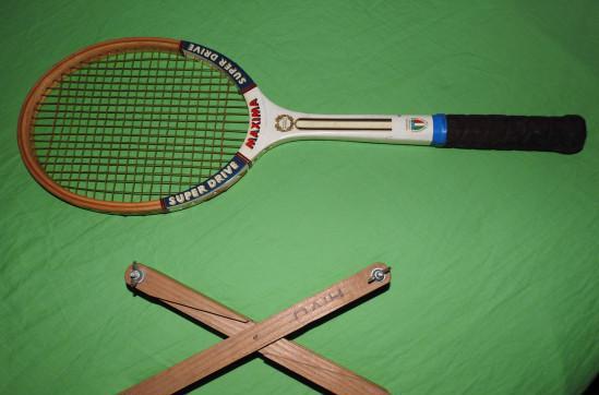 """Racchetta tennis vintage """"""""maxima"""""""""""