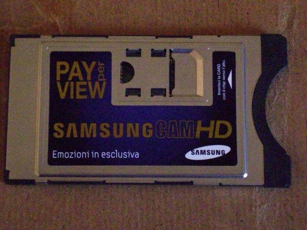 Scheda cam+hd samsung mediaset premium dig.terr.&dig.sat.