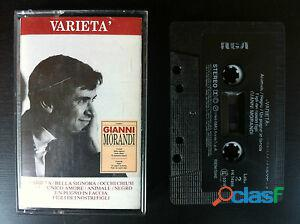 Mc musicassetta (1989) gianni morandi   varieta' , rca pk 74355