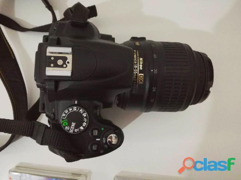 Nikon d5000+nikon 18 55+2 filtri+lexar 16gb