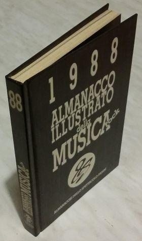 Almanacco illustrato della musica rock 1988 claudio buija,