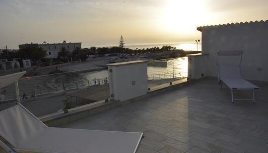 Appartamento sul mare con 9 posti letto custonaci