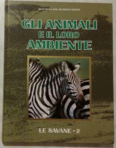 Gli animali e il loro ambiente.le savane -2 selezione dal