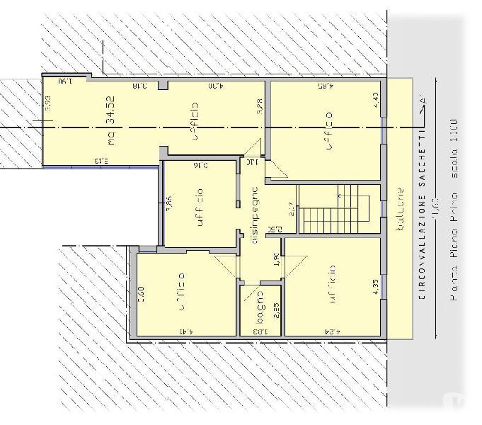 Locale commerciale in affitto(ufficio, studio, circolo)