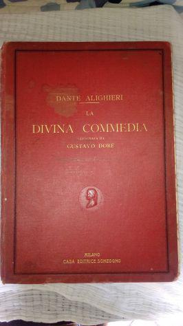 La divina commedia di dante alighieri del 1927