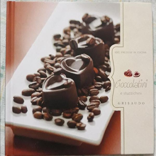 Libro cucina sul cioccolato mai usato