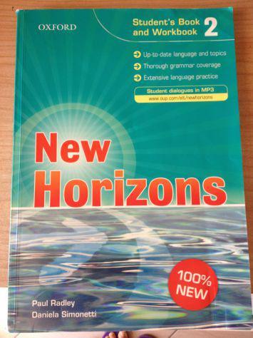 Libro inglese new horizons 2
